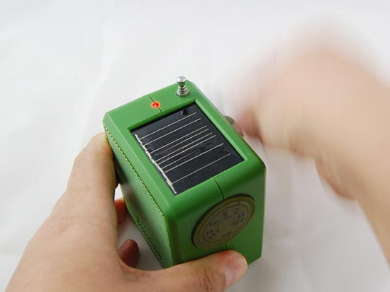 Green Gadgets Solar Fm Radio