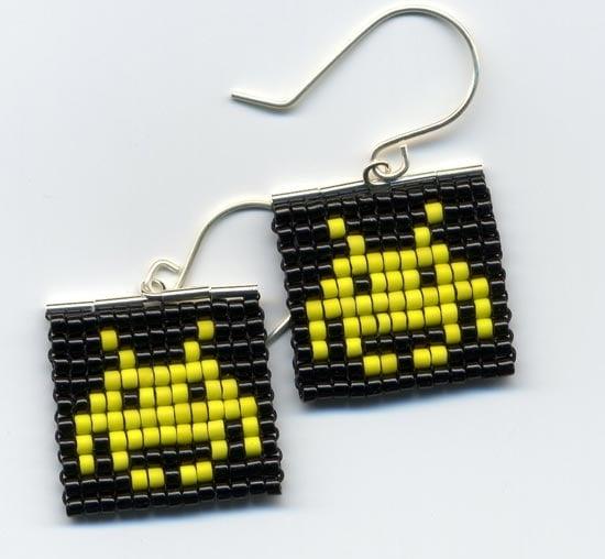 Space Invaders Earrings