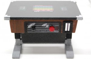 Space Invaders Table Top Arcade Game Piggy Bank
