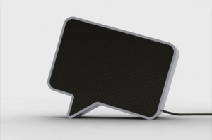 Speak-er – The Speech Bubble Speakers