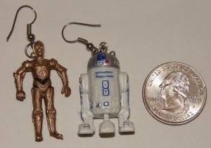 Geek Accessories – Star Wars Earrings