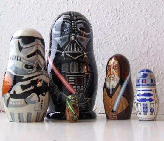 Star Wars Matryoshka Dolls