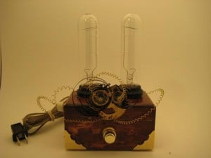 Feature: Homemade Steampunk Lamps