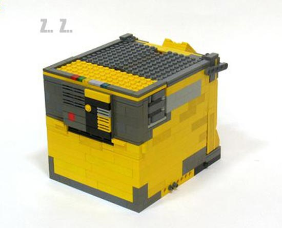 transforming lego wall e. Black Bedroom Furniture Sets. Home Design Ideas