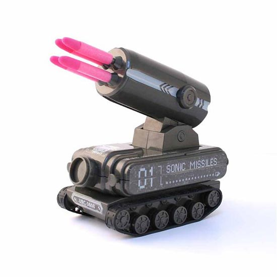 Cool Geek Toys : Usb tank missile launcher