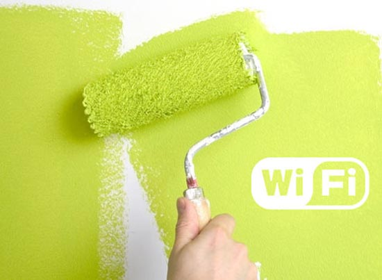 Wifi paint