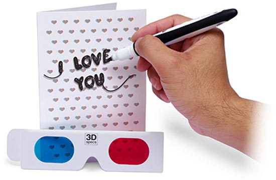 3D Valentine's Card