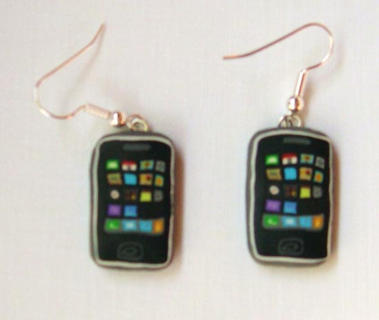 3g iphone earrings