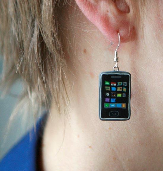 3g iPhone Earrings