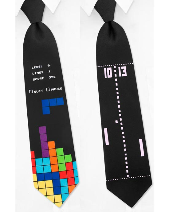 8-bit Video Game Ties