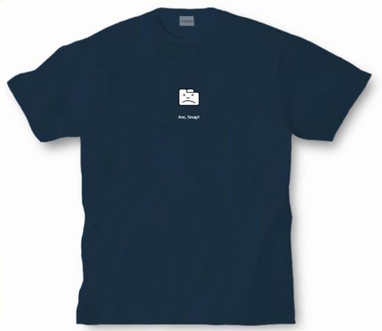 Aw, Snap! Google Crome T-Shirt
