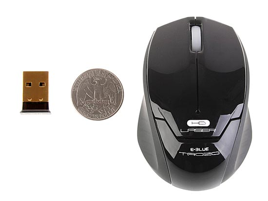 E-blue Troza 2.4GHz Wireless Laser Mouse
