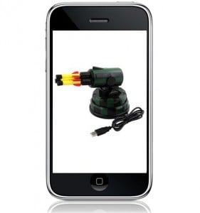 iPhone Controlled USB Missile Launcher