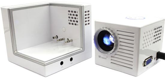 Miseal Mini Palm Sized Projector