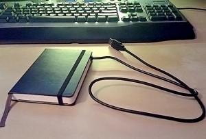 moleskine hard drive mod