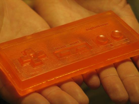 NES Controller Soap