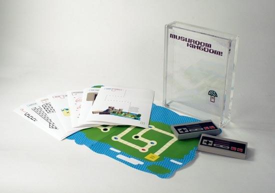papercraft mario board game