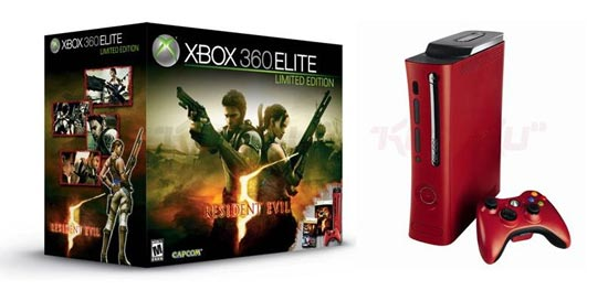 red xbox 360