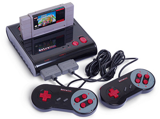 Retro Duo NES/SNES Game console