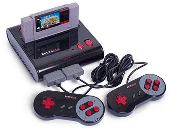 Retro duo nes snes game console - Retro game emulator console ...