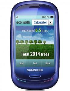 Samsung Blue Earth – Solar Powered Full-Touch Phone