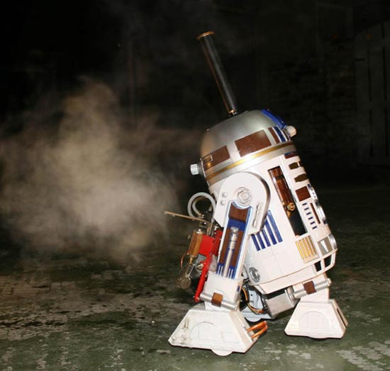 steam powered R2-D2