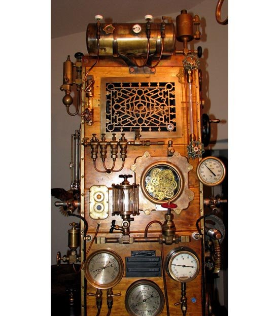 Steampunk Frankenstein PC Mod
