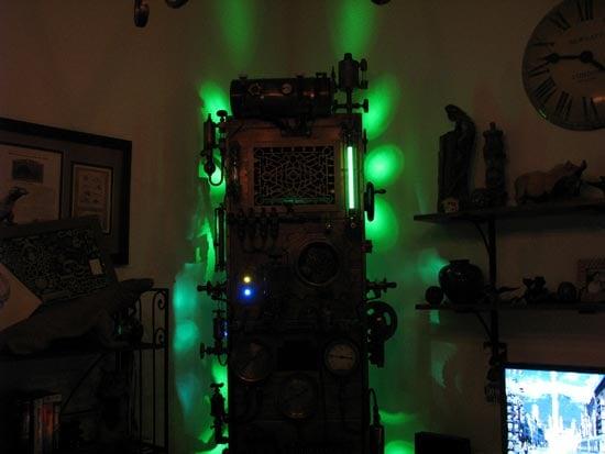 Steampunk Frankenstein PC Mod