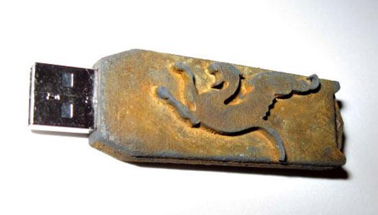 Steampunk USB Drive