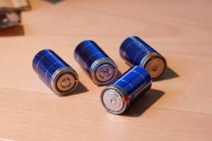 SunCat Solar Powered Rechargeable Batteries