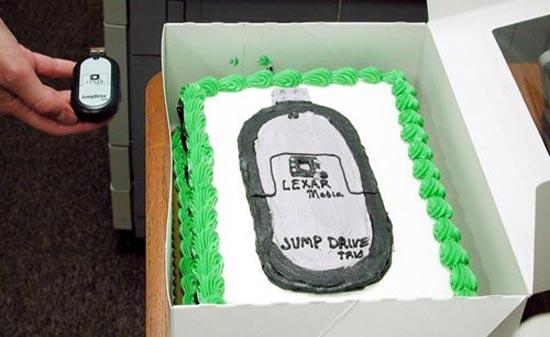 Flash Drive Cake