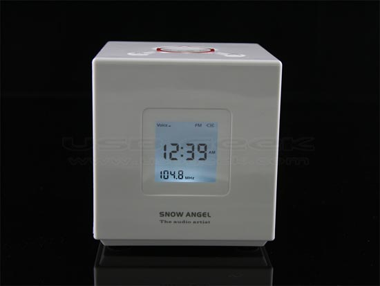 USB Cube MP3 Alarm Clock