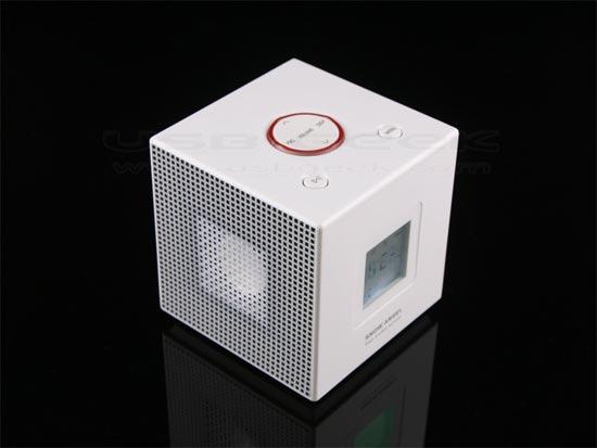 USB Cube MP3 Alarm Clock