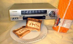 VCR Toaster
