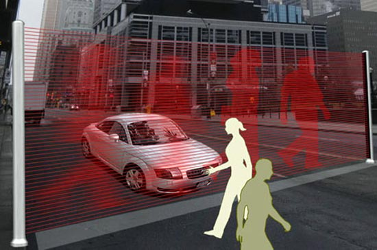 Virtual Wall Traffic Lights