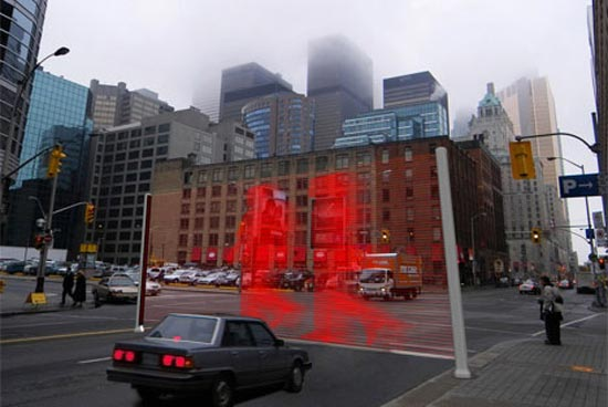 Virtual Wall Traffic Lights