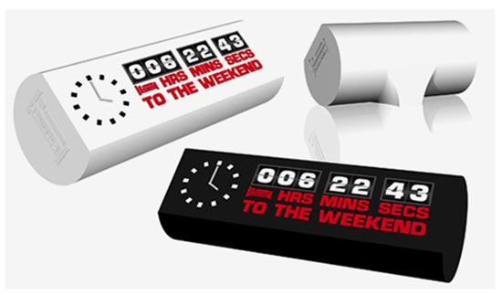 The Weekend Clock