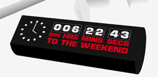 The Weekend Clock