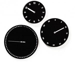 The Three Face Wall Clock