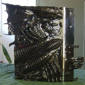 Cool Mods – The Alien PS3 Case Mod