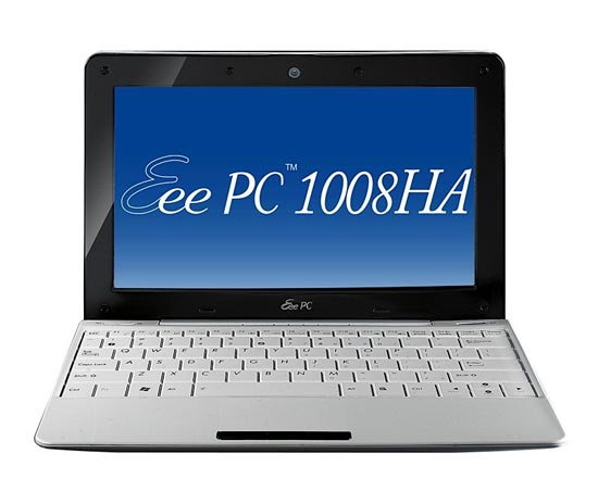 Asus Eee PC Shell 1008HA