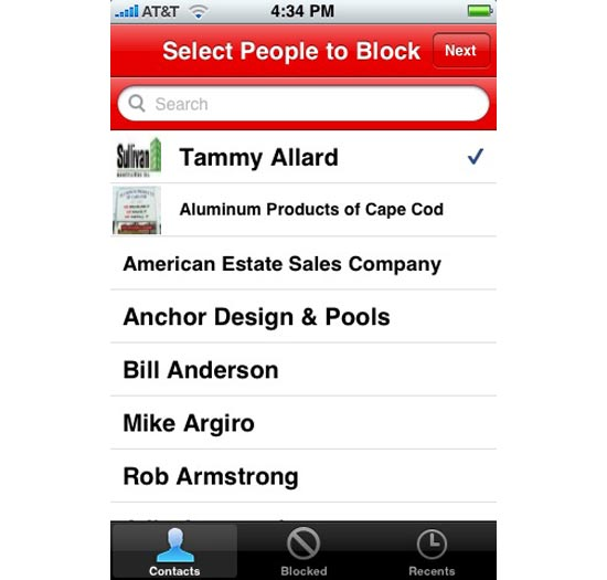 Cool iPhone Apps - The Bad Decision Blocker