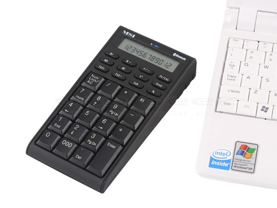 Wireless Bluetooth Keypad Calculator