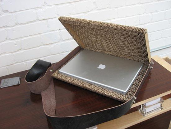 Cardboard MacBook Case