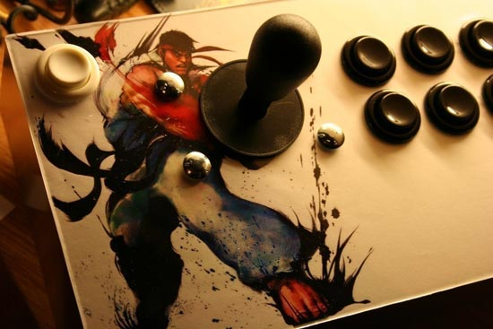 custom xbox 360 arcade stick