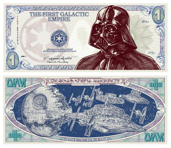 darth vader money