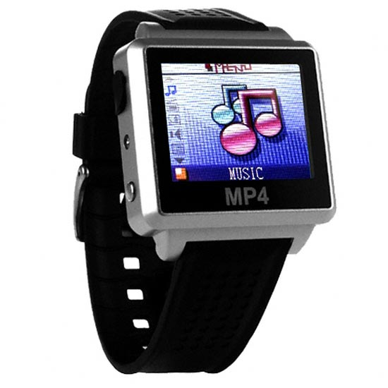 Digital MP4 Video Watch