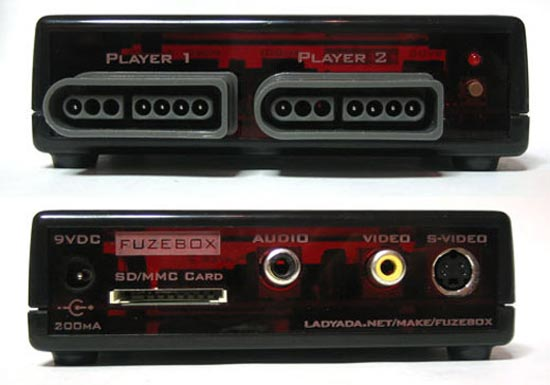 Fuzebox DIY 8-bit Gaming Console