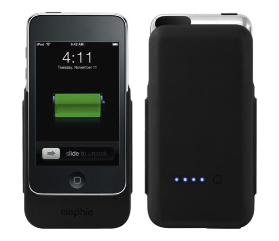 mophie juice pack ipod touch 2G. If you need extra battery life on your iPod