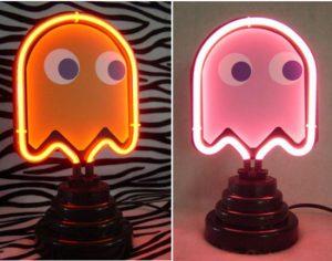 Geek Accessories – Neon Pacman Lights